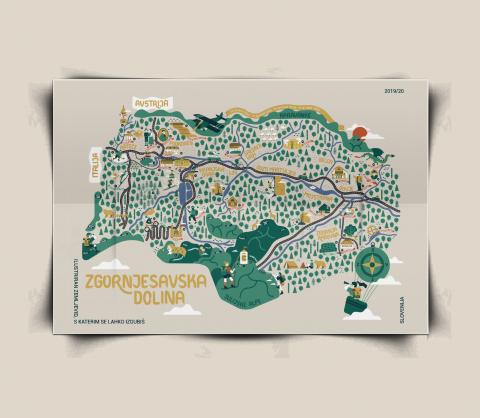 Zemljevid, s katerim se lahko izgubiš